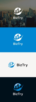 tanaka10さんの不動産会社新規設立『株式会社BizTry』のロゴへの提案