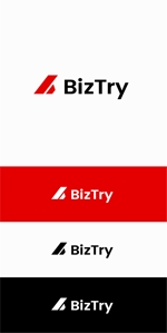 designdesignさんの不動産会社新規設立『株式会社BizTry』のロゴへの提案