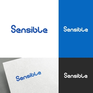 venusableさんのセミナー、コンサルティング運営会社「Sensible」のロゴへの提案