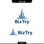 queuecatさんの不動産会社新規設立『株式会社BizTry』のロゴへの提案
