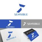 minervaabbeさんのセミナー、コンサルティング運営会社「Sensible」のロゴへの提案