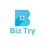 sriracha829さんの不動産会社新規設立『株式会社BizTry』のロゴへの提案