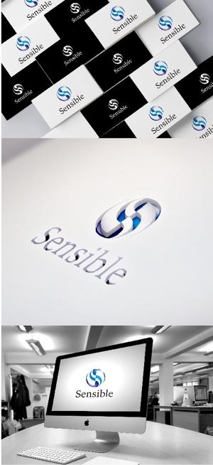 katsu31さんのセミナー、コンサルティング運営会社「Sensible」のロゴへの提案