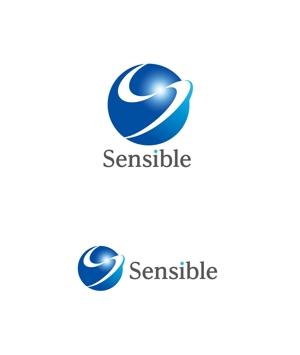 horieyutaka1さんのセミナー、コンサルティング運営会社「Sensible」のロゴへの提案