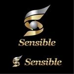 j-designさんのセミナー、コンサルティング運営会社「Sensible」のロゴへの提案