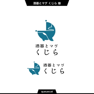 queuecatさんの自社の社名ロゴへの提案