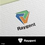 agnesさんの広告会社「Raygent(レイジェント)」のロゴへの提案