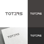 venusableさんのトートバッグ、Tシャツ、ポロシャツ等のブランド「toters」のロゴへの提案