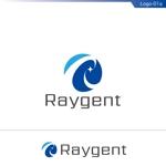 fs8156さんの広告会社「Raygent(レイジェント)」のロゴへの提案