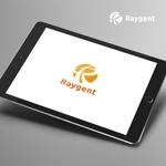 doremidesignさんの広告会社「Raygent(レイジェント)」のロゴへの提案
