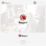 onesizefitsallさんの広告会社「Raygent(レイジェント)」のロゴへの提案