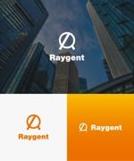 baku_modokiさんの広告会社「Raygent(レイジェント)」のロゴへの提案