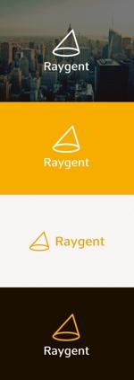 tanaka10さんの広告会社「Raygent(レイジェント)」のロゴへの提案