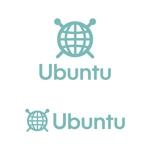 tsujimoさんの昼は編み物カフェ、夜はグローバルな学習塾を二部制で運営する「Ubuntu」のロゴへの提案