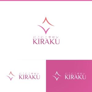 athenaabyzさんのリラクゼーションサロン  「にこにこサロン KIRAKU」 のロゴへの提案