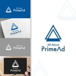 charisabseさんの広告ソリューション「All About PrimeAd」のロゴ への提案