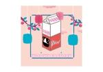 AKABARAさんのオープン予定のテイクアウト専門K-POPカフェ「Wooyu Factory」のロゴ制作への提案