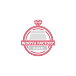 okng_yumさんのオープン予定のテイクアウト専門K-POPカフェ「Wooyu Factory」のロゴ制作への提案