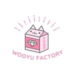 a-hondaさんのオープン予定のテイクアウト専門K-POPカフェ「Wooyu Factory」のロゴ制作への提案