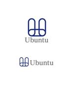 horieyutaka1さんの昼は編み物カフェ、夜はグローバルな学習塾を二部制で運営する「Ubuntu」のロゴへの提案