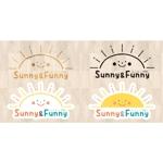 英会話教室 「にこにこABC Sunny & Funny」 のロゴへの提案