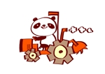 sakothu352さんのパンダがトラクターに乗っているマスコットキャラクターデザインへの提案