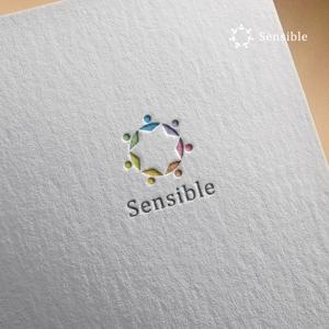 doremidesignさんのセミナー、コンサルティング運営会社「Sensible」のロゴへの提案