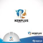 oo_designさんの建設会社 防水工事「ケンプラス」のロゴへの提案