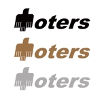 yama19820909さんのトートバッグ、Tシャツ、ポロシャツ等のブランド「toters」のロゴへの提案