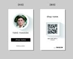terutaraさんの名刺タイプの紹介カードデザインへの提案