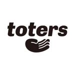 tsujimoさんのトートバッグ、Tシャツ、ポロシャツ等のブランド「toters」のロゴへの提案