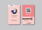 horimiyakoさんの名刺タイプの紹介カードデザインへの提案