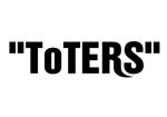 smirk777さんのトートバッグ、Tシャツ、ポロシャツ等のブランド「toters」のロゴへの提案