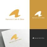 venusableさんのカフェ、レストラン「Harvest Cafe」のロゴへの提案