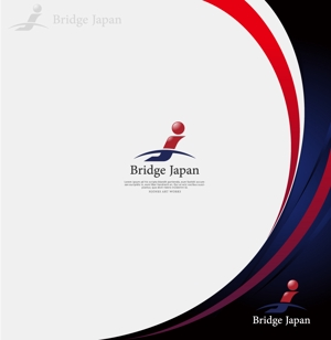 NJONESさんの外国人労働者対象サービス会社「ブリッジ・ジャパン株式会社」の企業ロゴへの提案