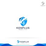 RIKU5555さんの建設会社 防水工事「ケンプラス」のロゴへの提案