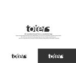 hope2017さんのトートバッグ、Tシャツ、ポロシャツ等のブランド「toters」のロゴへの提案