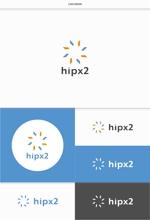DeeDeeGraphicsさんのhipx2: 新規サービス立ち上げ(子供と高齢者教育)に向けたロゴ作成への提案