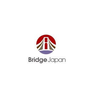 Sorakichiさんの外国人労働者対象サービス会社「ブリッジ・ジャパン株式会社」の企業ロゴへの提案