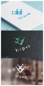 moguaiさんのhipx2: 新規サービス立ち上げ(子供と高齢者教育)に向けたロゴ作成への提案