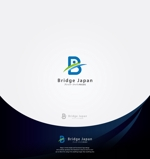 Cobalt_B1ueさんの外国人労働者対象サービス会社「ブリッジ・ジャパン株式会社」の企業ロゴへの提案