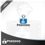 treefrog794さんの健康管理アプリ「POKEDOQ」のロゴへの提案