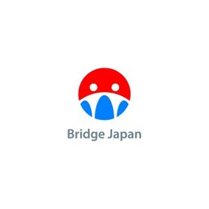 nabeさんの外国人労働者対象サービス会社「ブリッジ・ジャパン株式会社」の企業ロゴへの提案