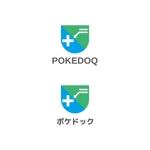 Yolozuさんの健康管理アプリ「POKEDOQ」のロゴへの提案