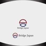 Nakamura__さんの外国人労働者対象サービス会社「ブリッジ・ジャパン株式会社」の企業ロゴへの提案