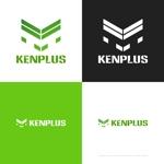 themisablyさんの建設会社 防水工事「ケンプラス」のロゴへの提案