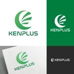 venusableさんの建設会社 防水工事「ケンプラス」のロゴへの提案