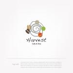 mg_webさんのカフェ、レストラン「Harvest Cafe」のロゴへの提案
