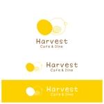 Catalpaさんのカフェ、レストラン「Harvest Cafe」のロゴへの提案