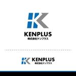 t-youhaさんの建設会社 防水工事「ケンプラス」のロゴへの提案